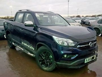 2018 SSANGYONG MUSSO SARACEN AUTO 2.2 DCI BREAKING SPARES REPAIRS PARTS D22DTR